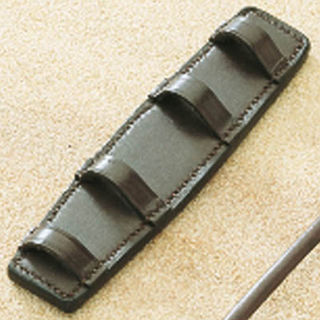 Aintree Curb Chain Guard - Open Leather