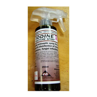Iodine Tincture Spray