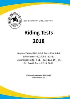 NZ Pony Clubs Association Riding Tests 2018