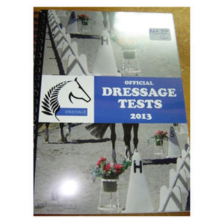 Official Dressage Tests Book 1/09/2013