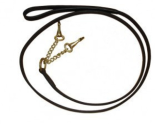 Collegiate Leather 2 Chain Lead