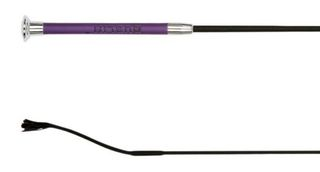 Dublin Leather Embossed Dressage Whip