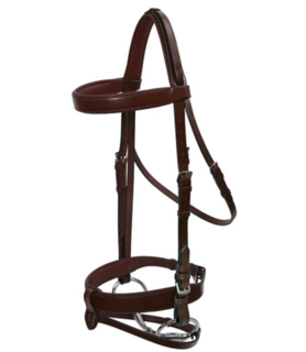 Platinum Hunt Bridle