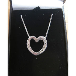 Horseshoe Heart Necklace