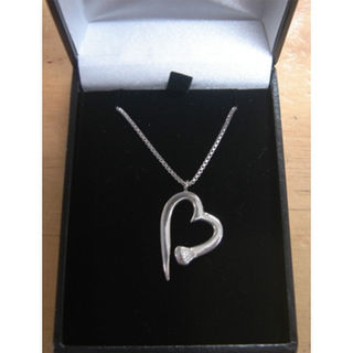 Horse Nail Heart Necklace
