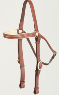 Oregon Plaited Brow Barcoo Head Bridle