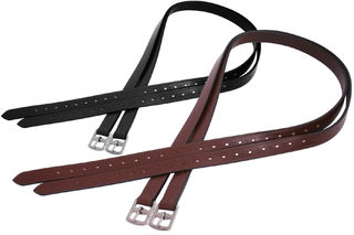 Platinum Pre-Stretched Stirrup Leathers