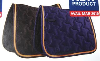 WeatherBeeta Rose Gold Dressage Saddle Pad