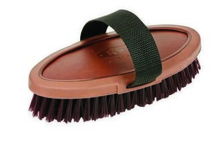Kincade Leather Embossed Body Brush