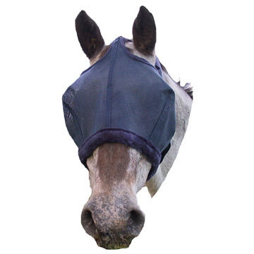 Fly Mask with fleece trim