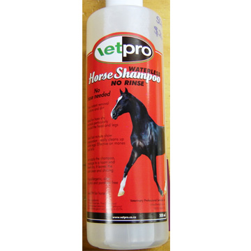 Waterless Horse Shampoo