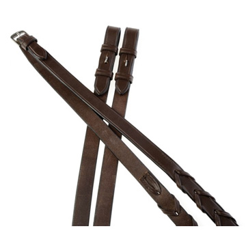 Collegiate Leather Laced Reins