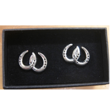 Cufflinks - Double Horseshoes