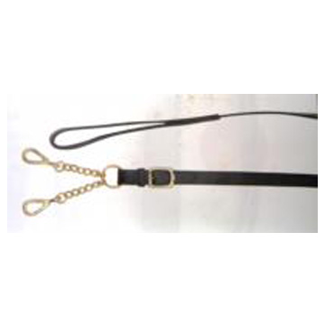 Leather Lead with Walsall Clip