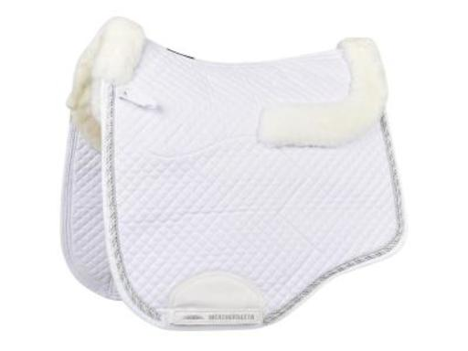 Weatherbeeta Euro Shaped Sheepskin Dressage Pad